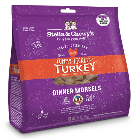 Stella & Chewy's Dinner Morsels (Tummy Ticklin' Turkey) - 227g / 510g
