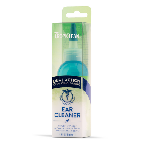 Tropiclean Dual Action Ear Cleaner - 118ml