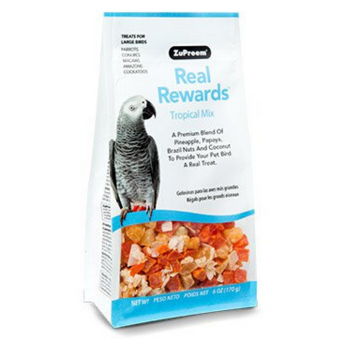 ZuPreem Real Rewards Tropical Mix - Large Birds - 170g