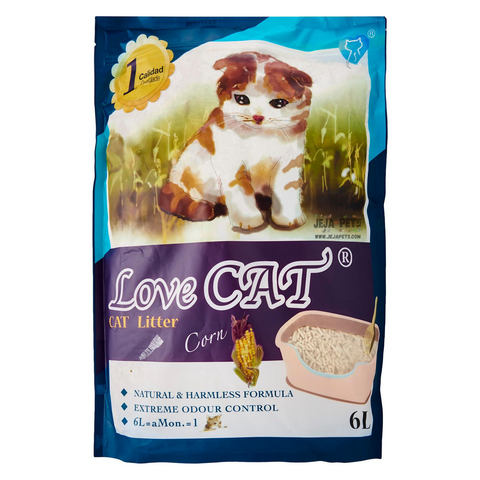 Love CAT Corn Tofu Cat Litter - 6L