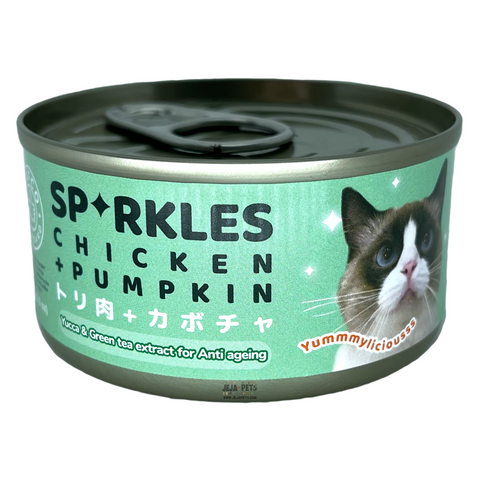 Sparkles Chicken and Pumpkin (Anti-Ageing) - 70g