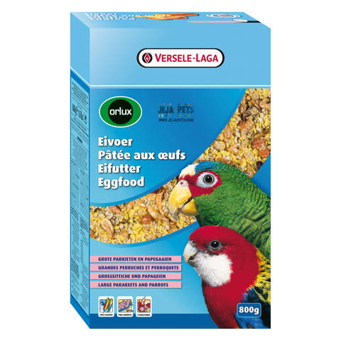 Versele Laga Eggfood Dry Big Parakeets & Parrots - 800g