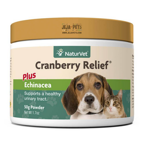 NaturVet Cranberry Relief® Powder Plus Echinacea - 50g