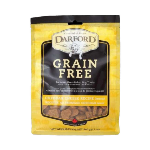 Darford Grain Free (Cheddar Cheese) Minis for Dogs - 170g / 340g