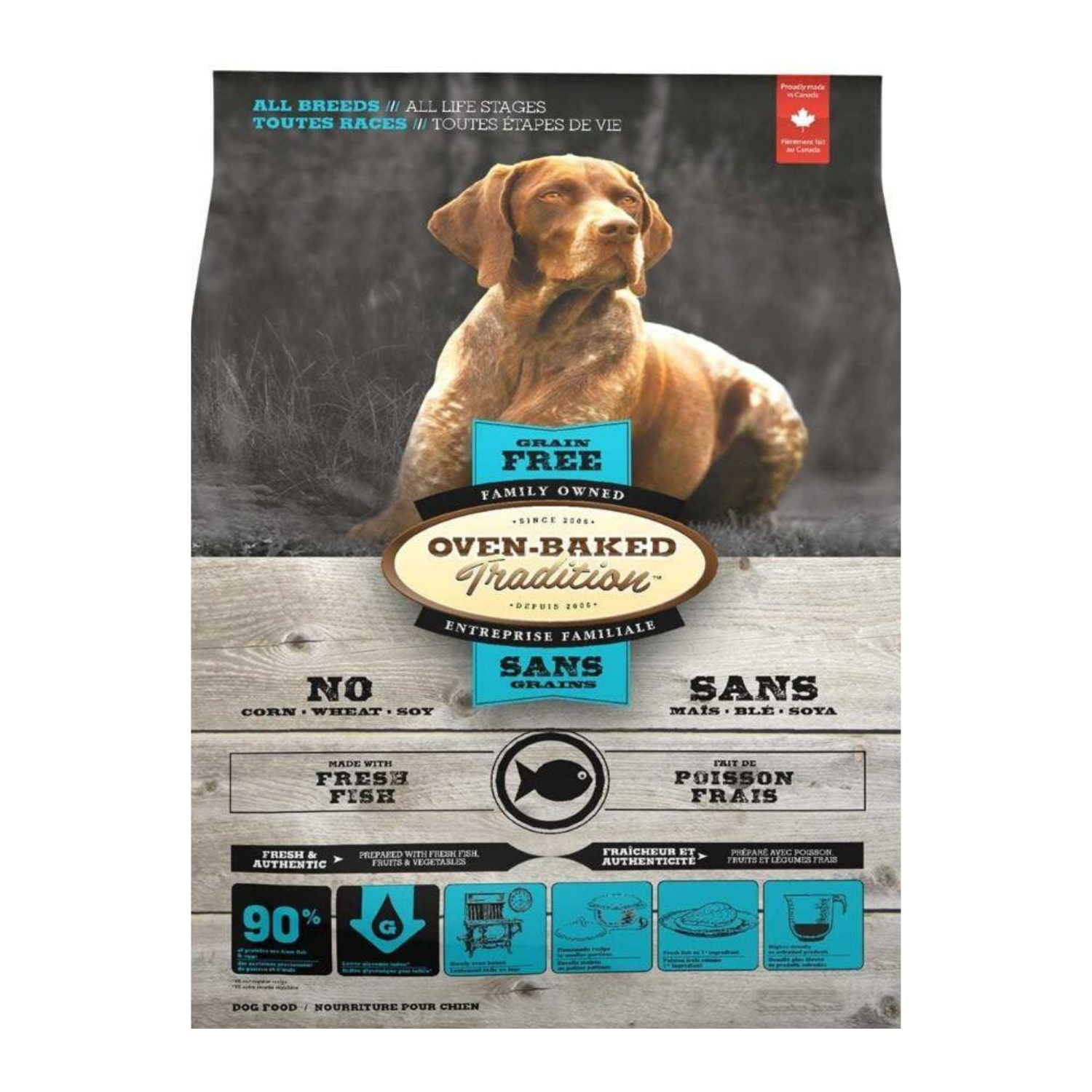 Oven Baked Tradition Grain Free (Fish) for Dogs - 2.27kg / 5.67kg / 11.34kg
