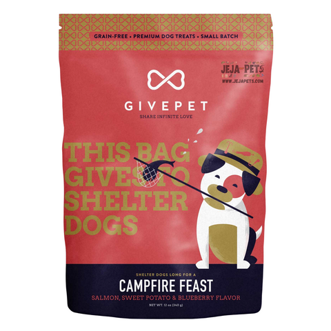 GIVEPET Campfire Feast (Salmon, Sweet Potato & Blueberry) Flavor - 340g