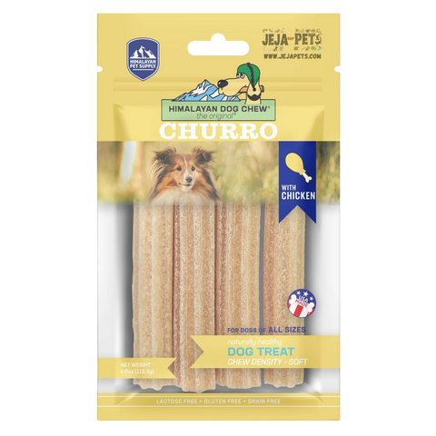 Himalayan Pet Supply Churro Cheese with (Chicken) Soft Density Dog Chew - 113.3g
