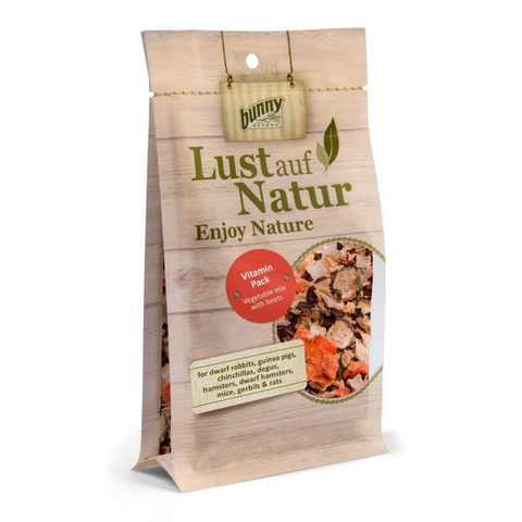 Bunny Nature Lust auf Natur (Vitamin Pack - Veggie Mix with Beets) - 50g