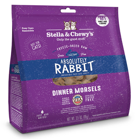 Stella & Chewy's Dinner Morsels (Absolutely Rabbit) - 227g