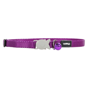 Red Dingo Cat Collars - Classic Range (Purple)