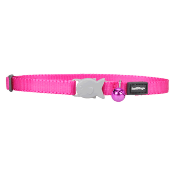 Red Dingo Cat Collars - Classic Range (Hot Pink)