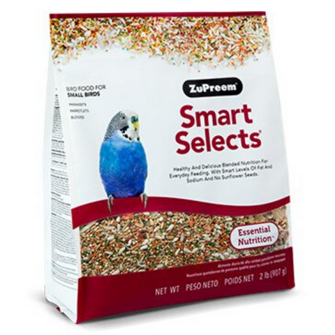 ZuPreem Smart Selects - Small Birds - 907g