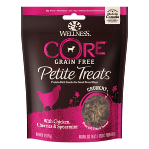 Wellness Petite Grain-Free Treats (Crunchy Chicken, Cherries & Spearmint)