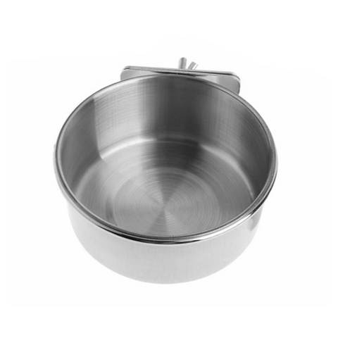 Stainless Steel Feeder Bowl - S / M / L