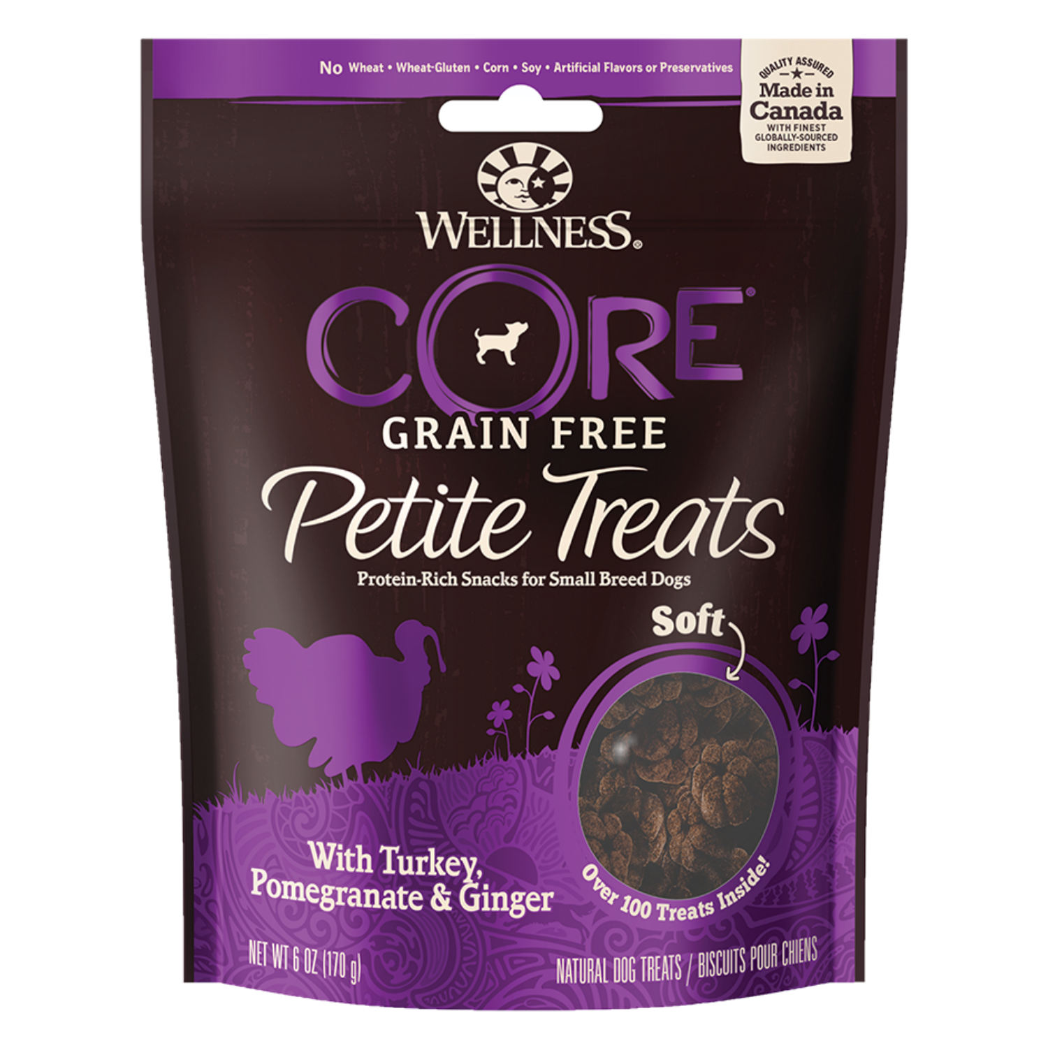 Wellness Petite Grain-Free Treats (Soft Turkey, Pomegranate & Ginger)