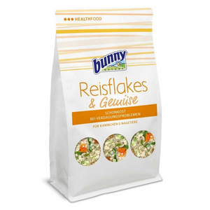 Bunny Nature Special Diet Food for Pets with Digestive Problems (Riceflakes and Vegetables) - 100g