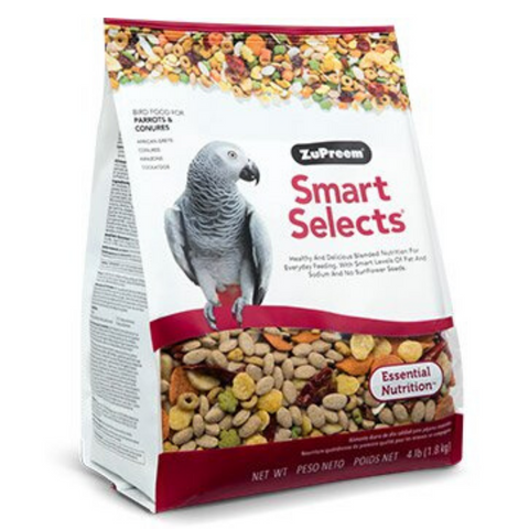 ZuPreem Smart Selects - Parrots & Conures - 1.81kg