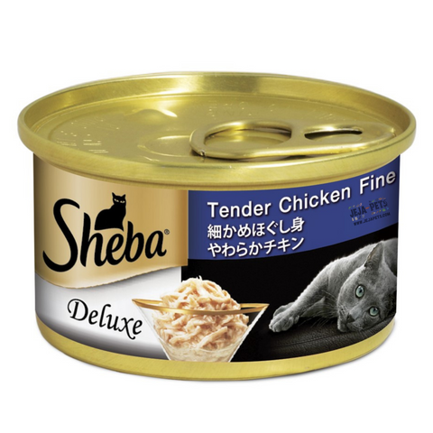 Sheba Tender Chicken Fine Flakes Wet Cat Food - 85g