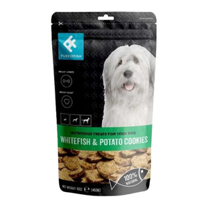 PurelyFish (Whitefish & Potato) Treats for Dogs
