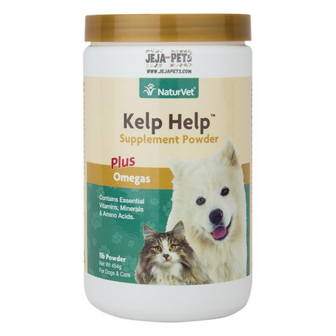 NaturVet Kelp Help™Supplement Powder Plus Omegas - 454g