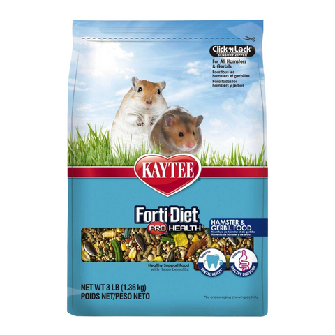 Kaytee Forti-Diet Pro Health for Hamsters & Gerbils - 1.36kg