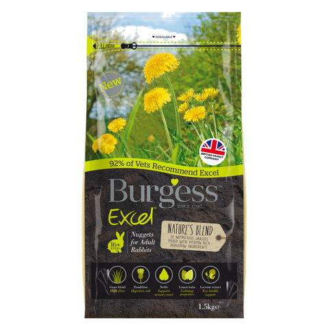 Burgess Excel Nature's Blend - 1.5kg
