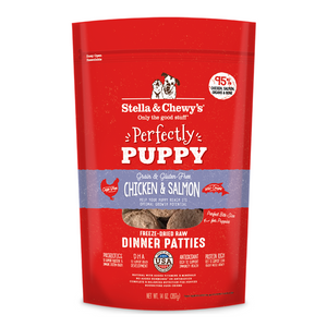 Stella & Chewy's Freeze Dried Dinner Patties (Chicken and Salmon) - Puppy - 397g