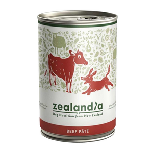 Zealandia (Free-Range Beef) for Dogs - 385g Can