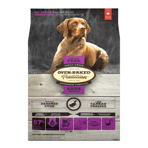 Oven Baked Tradition Grain Free (Duck) for Dogs - 2.27kg / 4.54kg / 10.43kg