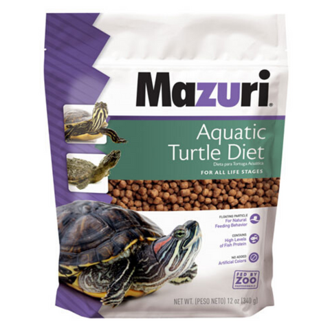 Mazuri Aquatic Turtle Diet - 340g / 11.34kg
