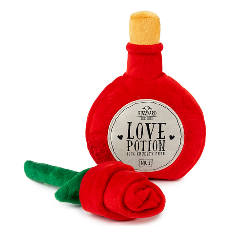 FuzzYard Plush Toy (Love Potion / Rose)