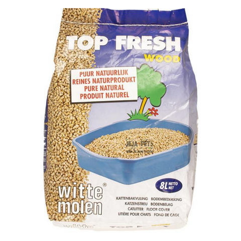 Witte Molen Top Fresh Wood Pellets - 8L / 25L