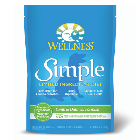 Wellness Simple Limited Ingredients (Lamb & Oatmeal) - 2kg / 10.89kg