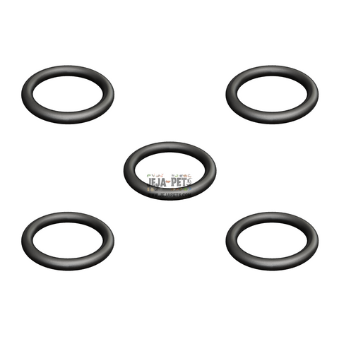 ANS CO2 Rubber O-ring Replacement for CO2 Regulators - 5 Pcs