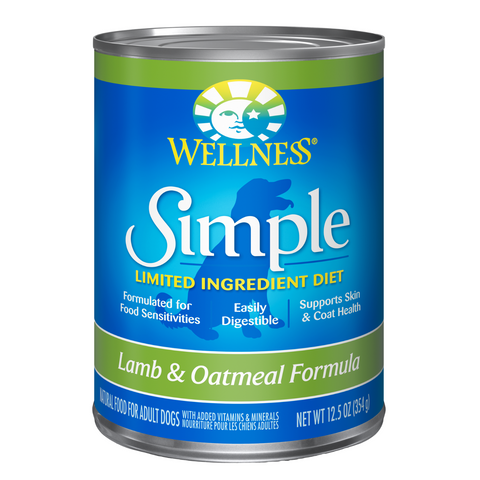 Wellness Simple Limited Ingredients (Lamb & Oatmeal) - 354g