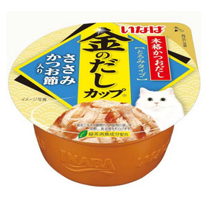 Ciao Kinnodashi Cup Chicken Fillet in Gravy Dried Bonito Flavor - 70g
