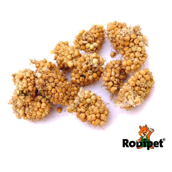 Rodipet Yellow Foxtail Millet Spray - 170g