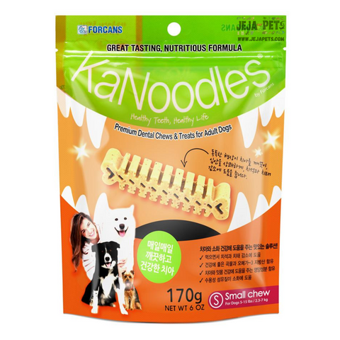 Forcans Dental Chew KaNoodles - S / M / L (170g)