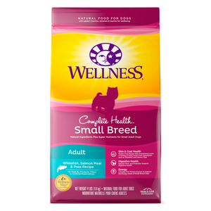Wellness Complete Health for Small Breed Adult - (Whitefish, Salmon and Peas) - 1.81kg / 4.99kg