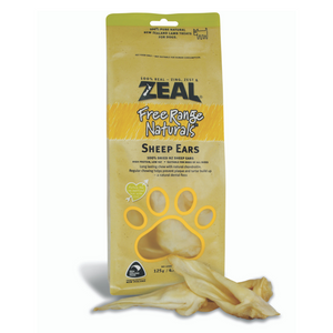Zeal Free Range Naturals Sheep Ears - 125g (BUY 2 GET 1 FREE)