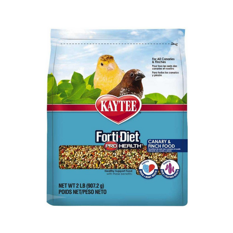 Kaytee Forti-Diet Pro Health Canary & Finch Food - 907g