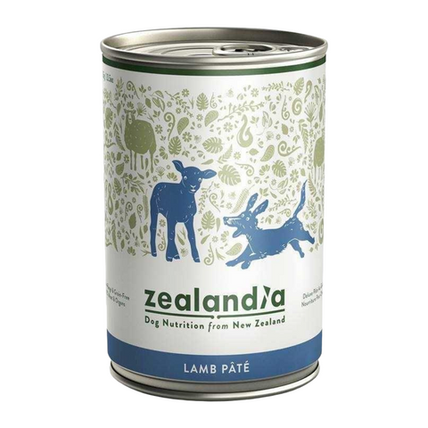 Zealandia (Free-Range Lamb) for Dogs - 385g Can