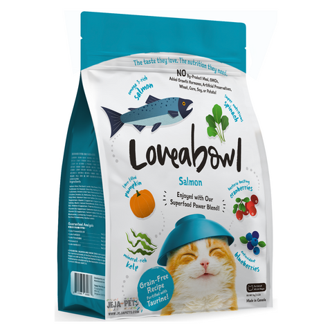 Loveabowl Salmon for Cats - 150g / 1kg / 4.1kg
