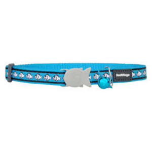 Red Dingo Cat Collars - Reflective Range (Turquoise)