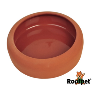 Rodipet Terracotta Sand Bathing Bowl - 13cm