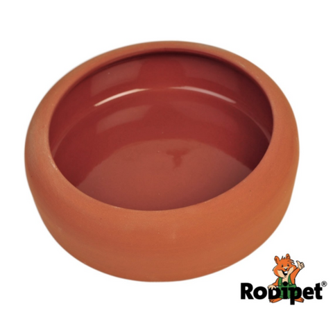 [PREORDER] Rodipet Terracotta Sand Bathing Bowl - 16cm