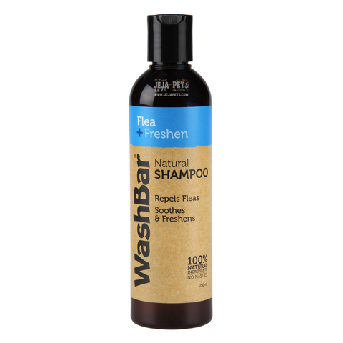 WashBar Natural Shampoo (Neem Fresh) - 250ml
