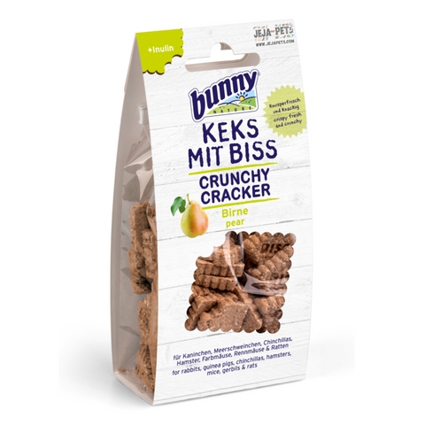 Bunny Nature Crunchy Cracker (Pears) - 50g