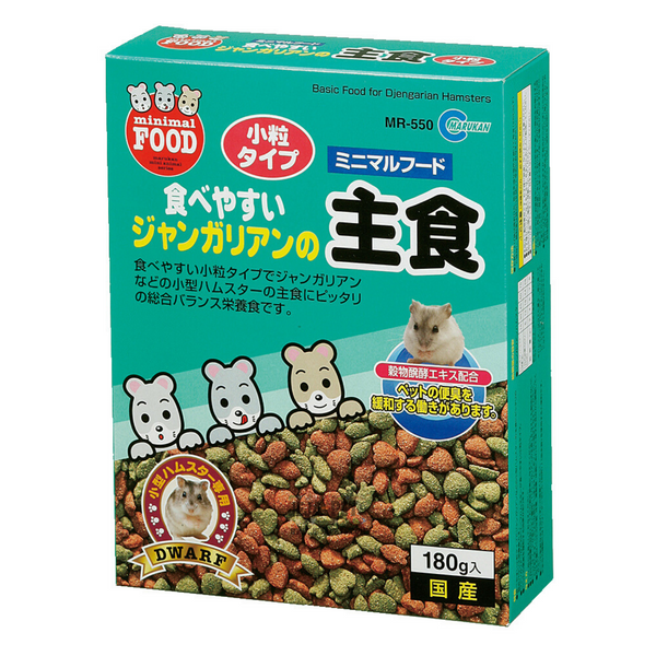 Marukan Basic Food for Dwarf Hamsters - 180g
