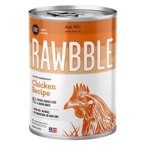 BIXBI Rawbble Chicken Canned Wet Dog Food - 354g